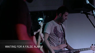 Disco is Dead - Waiting for a False Alarm (Live)